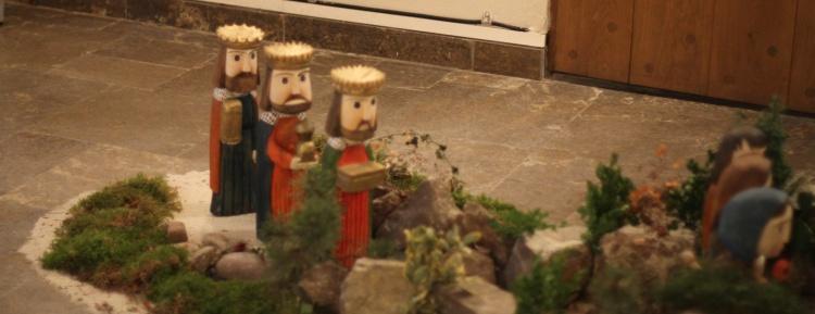 Die Heiligen drei Könige im Eingang der Ev. reform. Stadtkirche Salzuflen