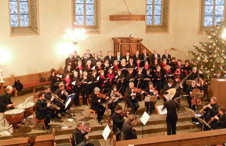 Stadtkirche Bad Salzuflen Weihnachtsoratorium (Foto Heike Rottkamp)