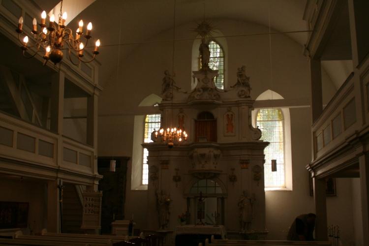 Bach-Kirche St.Bartholomäi Kirche in Dornheim-Thüringen