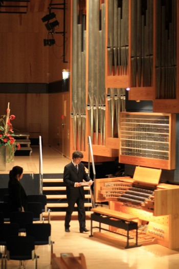 Die Klais-Orgel im Konzerthaus der HfM in Detmold