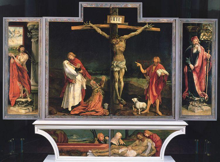 Isenheimer Altar in Colmar von Matthias Grünewald (1475-1528)