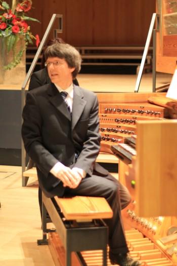 Organist Prof. Dr. Martin Sander HfM Detmold