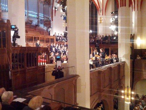 Thomaskirche Konzert Matthäus-Passion Fernsehübertragung