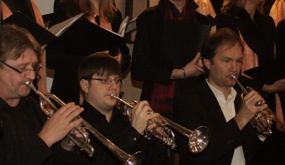Ein hervorragendes Trompeten-Ensemble