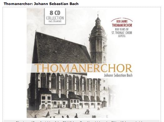 Bild-Link - 8 CDs - 800 Jahre Thomanerchor