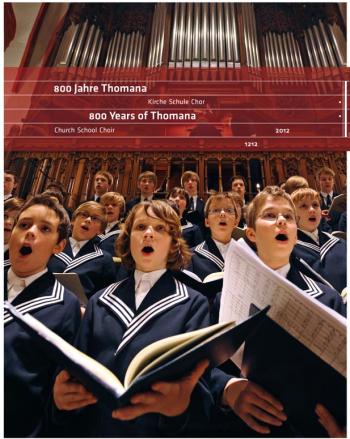 Bild - Link: Festschrift 800 Jahre Thomaner