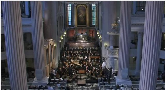 Nikolaikirche Leipzig zu Himmelfahrt erklingt das BWV 11 Himmelfahrts-Oratorium
