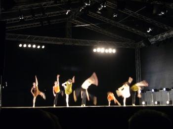 Ballet auf der Bühne im Stadtgarten