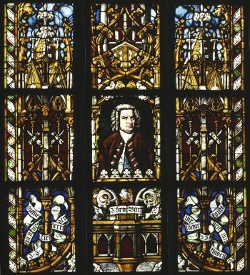 Bachfenster in der Thomaskirche
