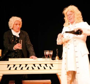 Händel und Bach - eine irrwitzige Begegnung