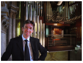 Jean-Christophe Geiser - Domorganist zu Lausanne / CH
