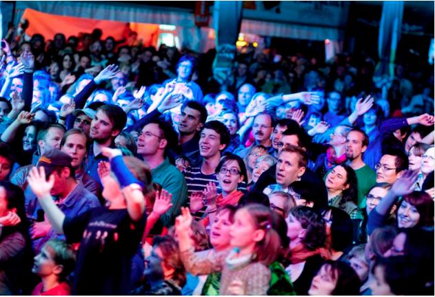 Begeisterte Leipziger BACHmpsphäre - Publikum 2012 - Fotorechte: © Gert Mothes