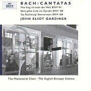 Cover: DGG Kantaten - BWV 94 BWV 105 BWV 168 und