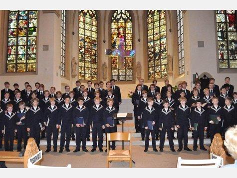 800 Jahre Thomanerchor Konzert in Werne