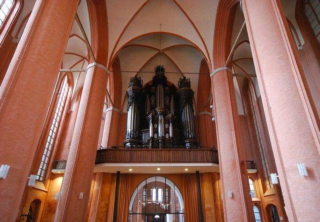 Die Dropa-Orgel in St. Michaelis Lüneburg, J.S. Bach sang in St. Michaelis im Mettenchor in den Jahren 177-1702