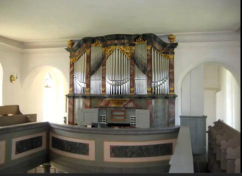 Hildebrand-Orgel in Störmthal Orgelabnahme am 2. November 1723 durch J.S.Bach
