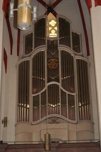 Die neue Woehl-Bach-Orgel in der Thomaskirche Leipzig geweiht in 2000