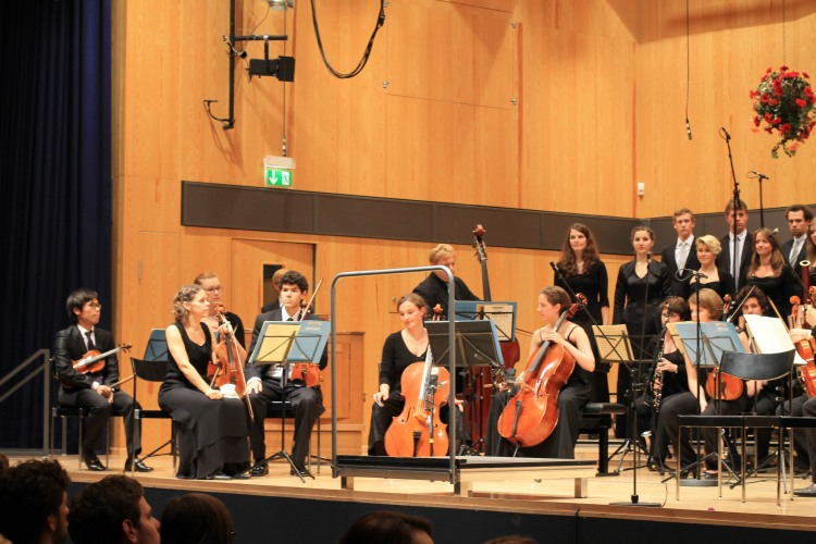 Ensemble der Barockakademie HfM Detmold.