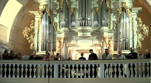 Die Wender-Orgel in der Bach-Kirche Arnstadt/Thüringen