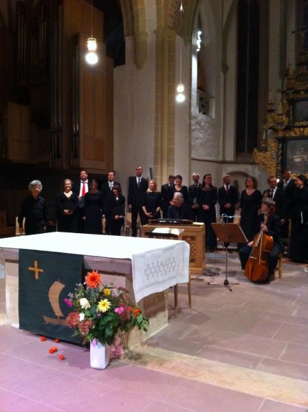 Rheinische Kantorei - Leitung Hermann Max in St. Marien Lemgo mit Bach-Motetten