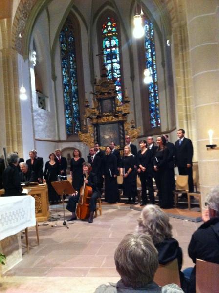 Rheinische Kantorei - Leitung Hermann Max in St. Marien Lemgo