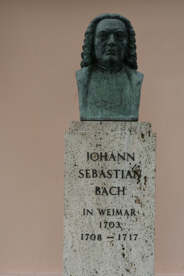 J.S. Bach-Büste in Weimar