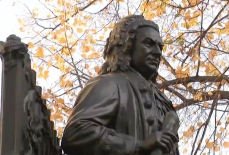 J.S. Bach-Denkmal im Herst