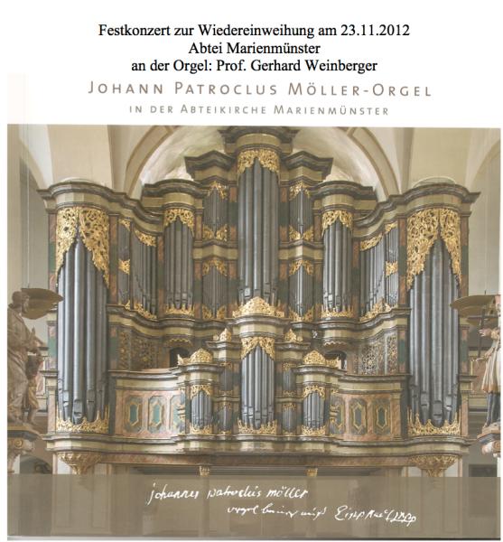 Restauration abgeschlossen Patroclus-Möller-Orgel in Marienmünster