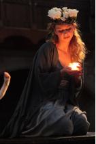 Altistin Juliane Harberg als Maria. Foto ©Marcel Domeier