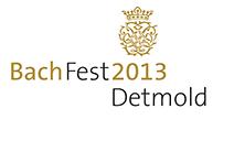 BachFest 2013  Detmold vom 3. bis 12. Mai 2013