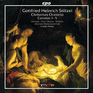 CD Gottftied H. Stölzel Weihnachtsoratorium
