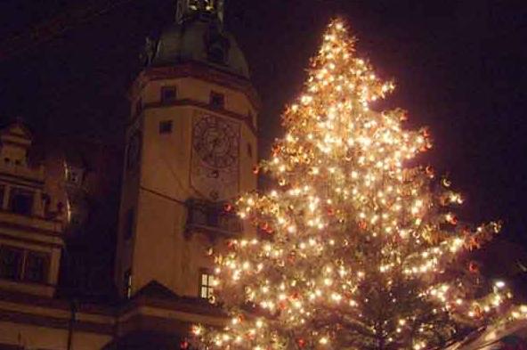 Weihnachten in Leipzig