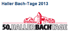 50. Haller Bach-Tage