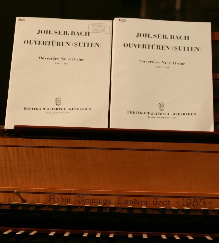 Bach-Noten vom BWV 1068 und BWV 1069