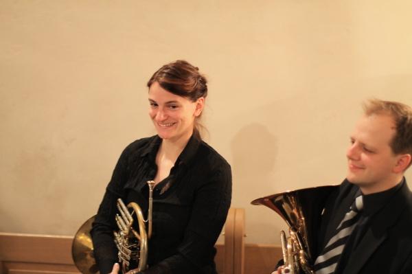 Eine überzeugende Hornistin aus Iserlohn und ein ebenso überzeugender Hornist aus Hagen