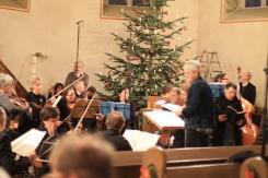 Orchesterprobe in der Stadtkirche Bad Salzuflen