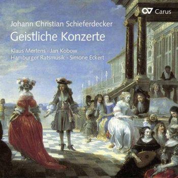 Johann Christian Schieferdecker Geistliche-Konzerte
