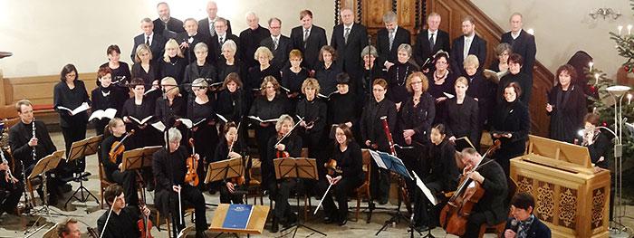 Kirchenchor der Ev. reform. Stadtkirchengemeinde Bad Salzuflen - (Fotorechte: Stadtkirche Bad Salzuflen)