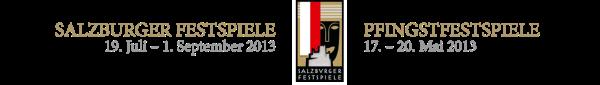 Logo Salzburger Festspiele