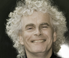 Sir Simon Rattle. Dirigent der Berliner Philharmoniker