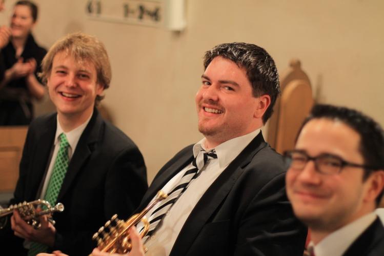 Trompeten-Ensemble von der HfM Detmold