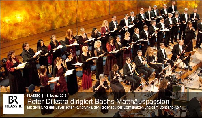 ARTE LIVE WEB weiterhin für über zwei Monate live -  J.S. Bach Matthäus Passion BWV 244