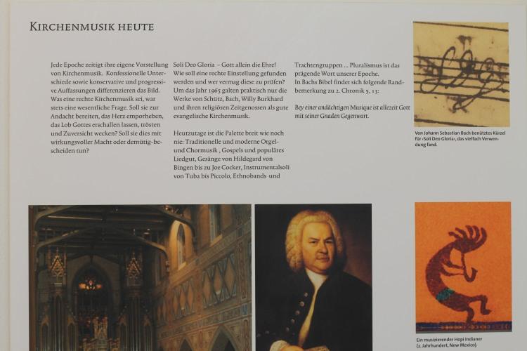 Kirchenmusik in St. Laurenzen St. Gallen (Schweiz)