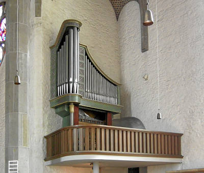 Chor-Orgel - Kleine Beckerath-Orgel Altstädter Nicolaikirche Bielefeld von 1954