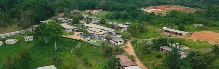 Lambaréné-Spital in Gabun, Zentral-Afrika