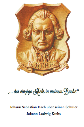 """300 Jahre """"Johann Ludwig Krebs""""  * 1713   t  1780"""