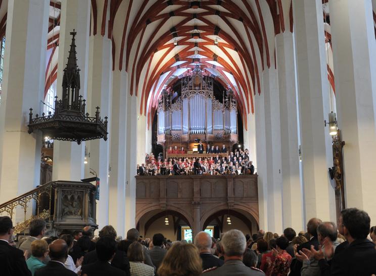 Eröffnungskonzert Bachfest 2012 Eröffnungs-Konzert Thomaner - (Bildrechte Gert Mothes - BachArchiv)