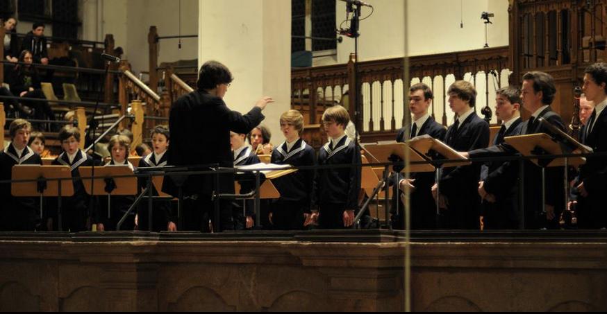 Himmelkönig sei willkommen Chorbesetzung wie zu Bachs Zeiten und historische Instrumente