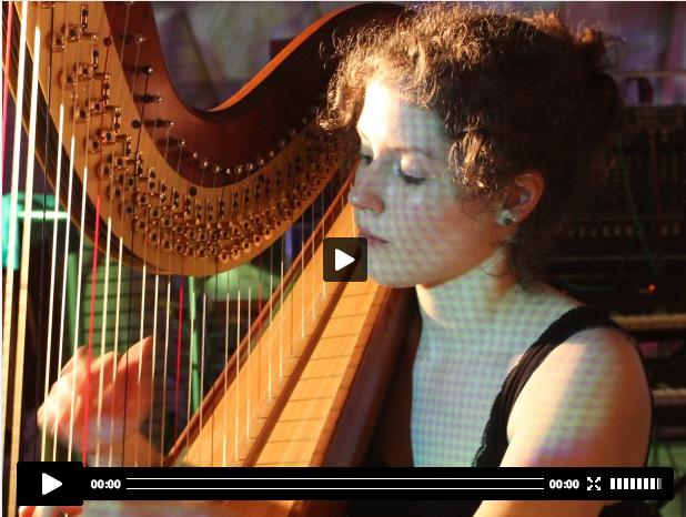 Jessyca Flemming Musik Studentin Weimar (Harfe)