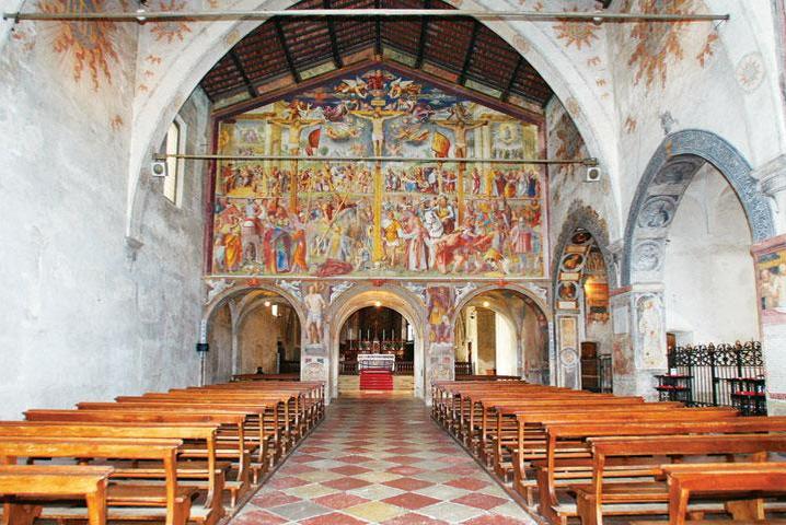 Lugano - Kirche Santa Maria degli Angioli gehört zu einem 1490 gegründeten Franziskanerkloster